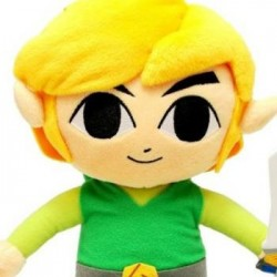 Zelda - Peluche de Link 24 cm  - Zelda Hors Stock