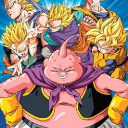 Dragon Ball Z - Poster Buu vs Super Saiyans