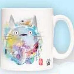 Mug Totoro paint  -  TOTORO - GHIBLI