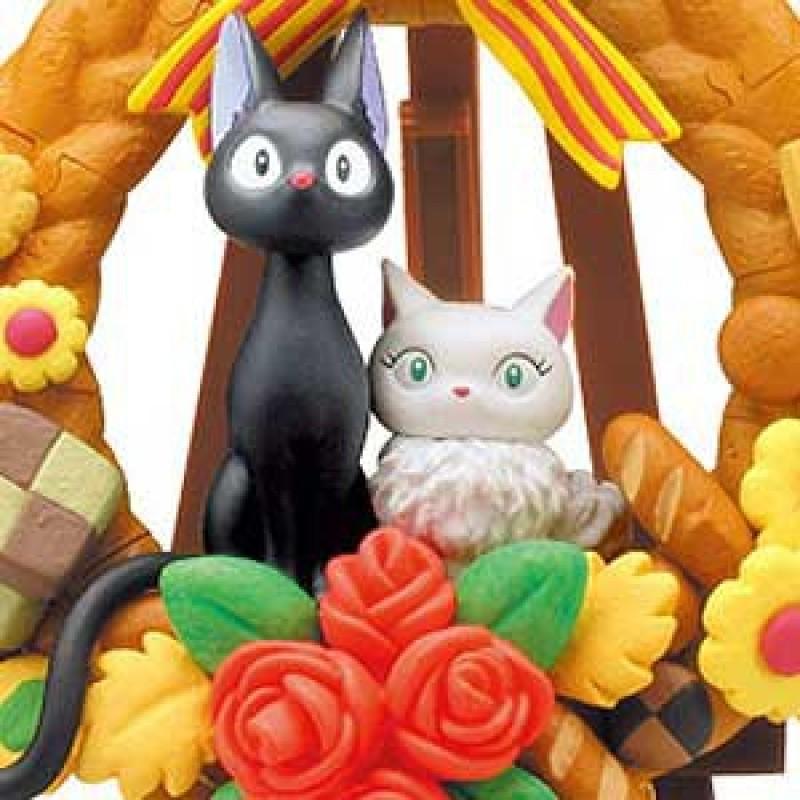 Kiki la petite sorcière - Puzzle 3D de Jiji  -  TOTORO - GHIBLI
