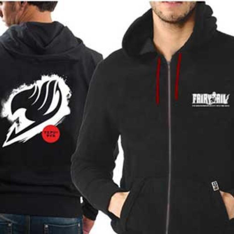 Veste de la guilde de Fairy Tail - logo Blanc  - T-Shirts
