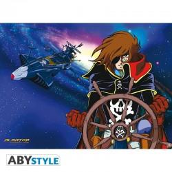 Albator - Poster Albator et Arcadia  - POSTERS & AFFICHES