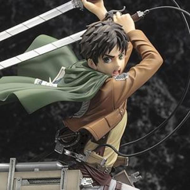 Attack on Titan - Figurine Eren Yaeger - Kotobukiya  - L'ATTAQUE DES TITANS
