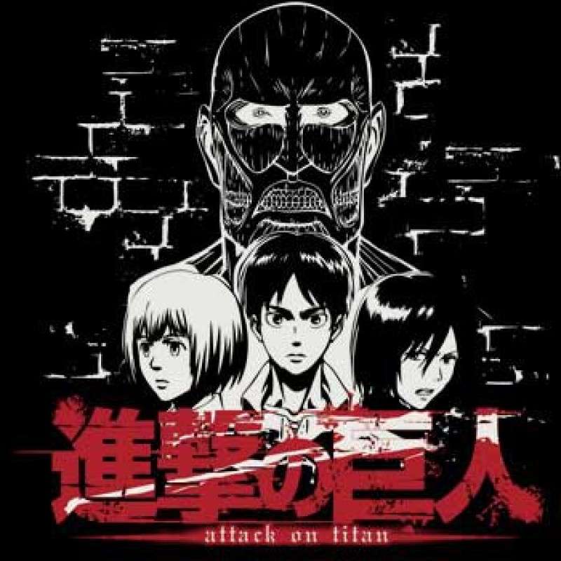 L'attaque des Titans - T-shirt Titan Face  - L'ATTAQUE DES TITANS