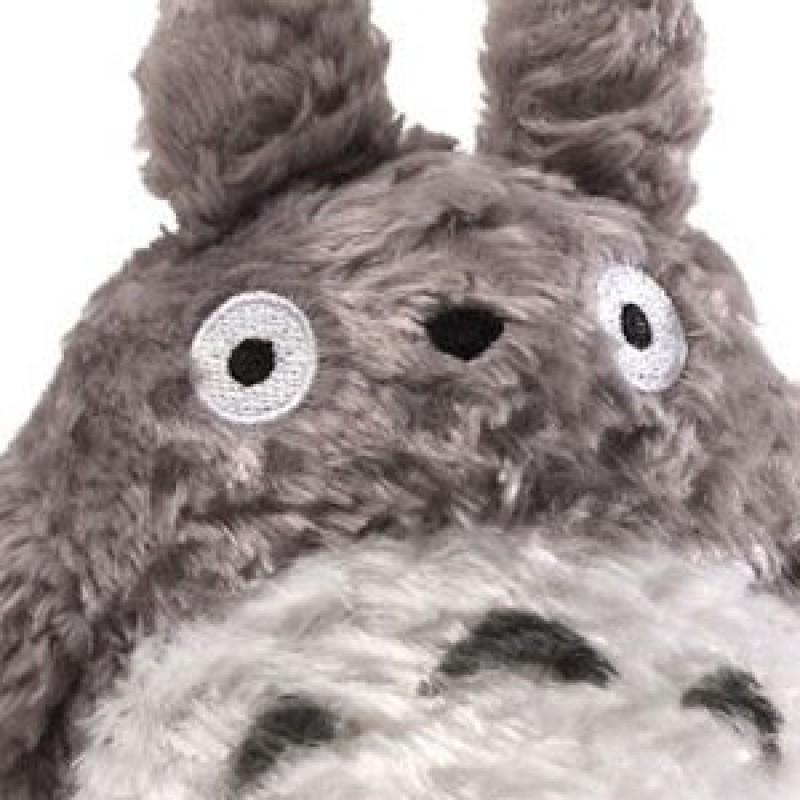 Peluche Totoro big Fluffy - Taille M  -  TOTORO - GHIBLI