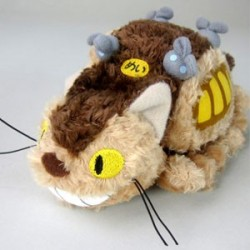 Peluche du Chat Bus - Taille S  -  TOTORO - GHIBLI