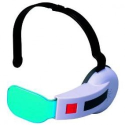 Dragon Ball Z - Saiyan Scouter Bleu  - Goodies DBZ