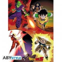 Dragon Ball Z - Poster des Guerriers de l'espace  - Goodies DBZ