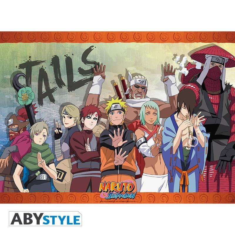 Naruto Shippuden - Poster Naruto Tails Team  - Goodies