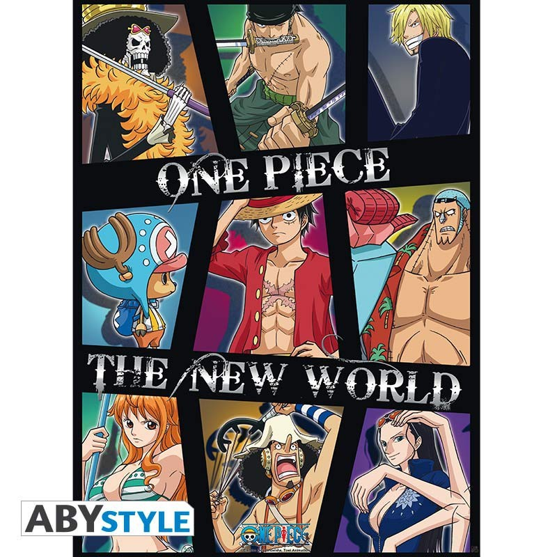 Poster One Piece - New World Crew  - Posters & Affiches