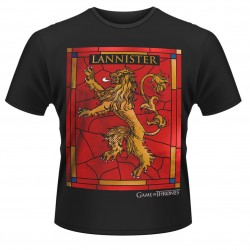 Game of Thrones - T-shirt maison Lannister  - CINÉMA & SÉRIES TV