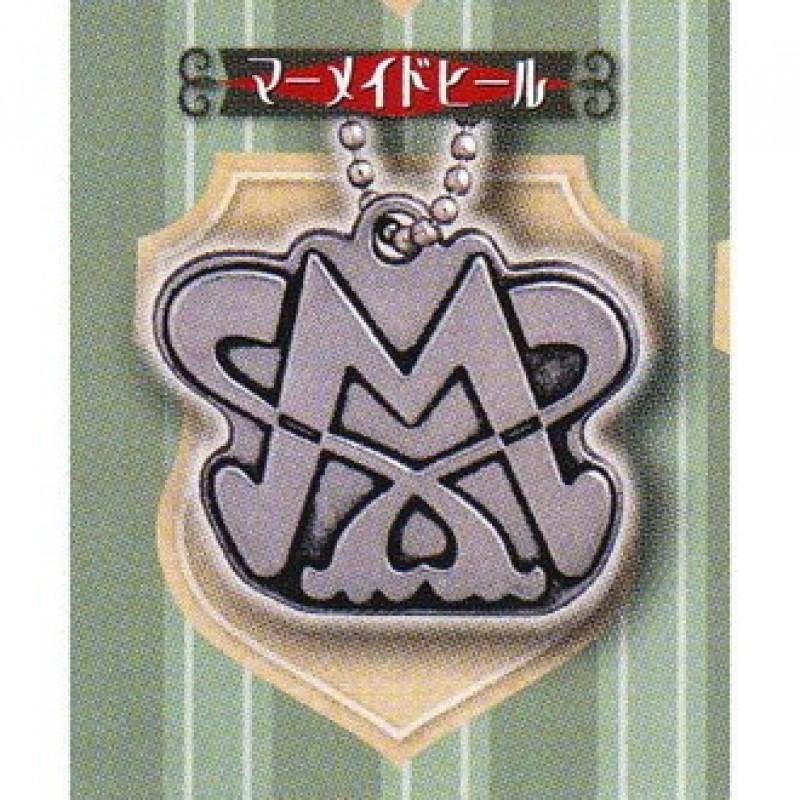 Fairy Tail - Porte Clé metal Charm Guilde Mermaid Heel  - Porte-clés/Strap