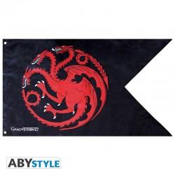 Game of Thrones - Bannière Targaryen  - CINÉMA & SÉRIES TV