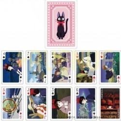 Kiki la petite Sorcière - Jeu de 54 cartes à jouer  - ARTICLES TOTORO STOCK EPUISE
