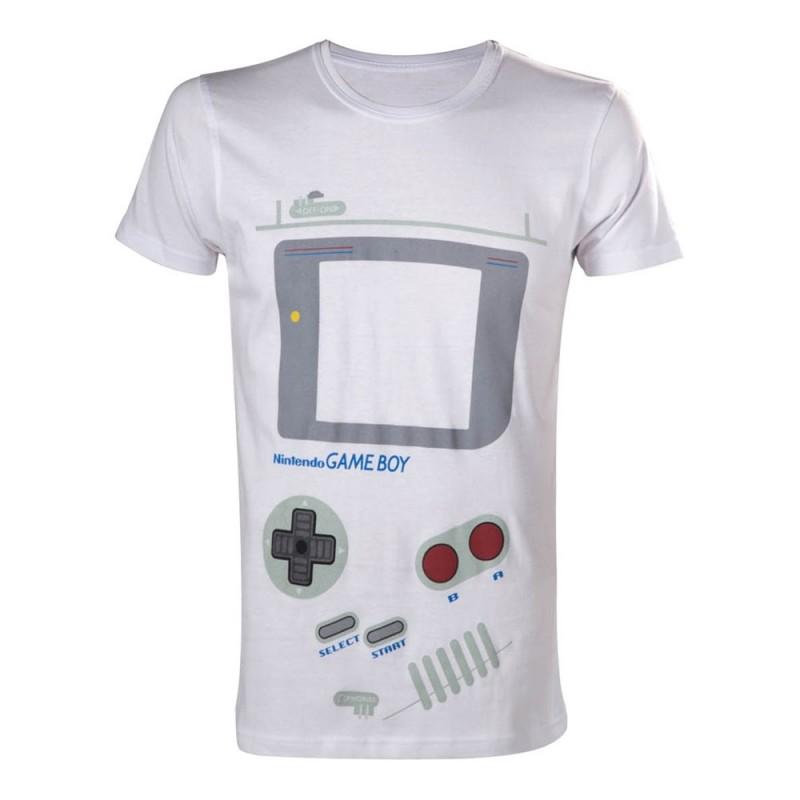 Nintendo - T-shirt Game Boy  -  LES BONNES AFFAIRES