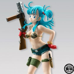 Dragon Ball Z - Figurine Bulma - Bandai Shokugan  - Figurines DBZ