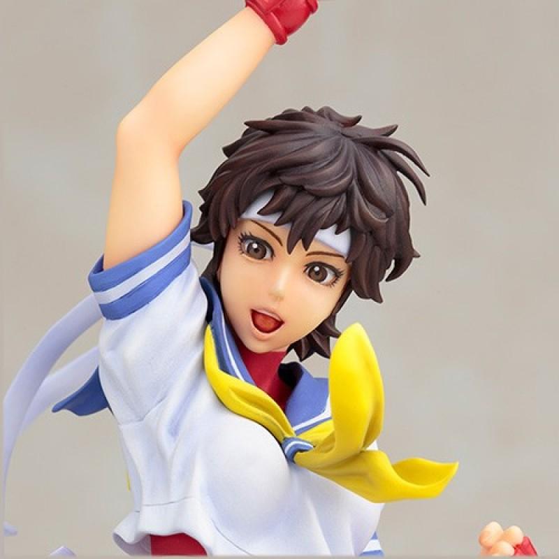 Street Fighter - Figurine Bishoujo Sakura - Kotobukiya  - Figurines jeux-vidéo