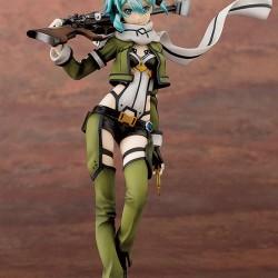 Sword Art Online II - Figurine de Sinon - Aquamarine  - FIGURINES FILLES SEXY