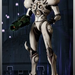 Metroid - Figurine Samus Light Suit - First 4 Figures  - Figurines jeux-vidéo