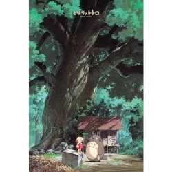 Mon Voisin totoro - Totoro et Mei Puzzle 1000 pièces  -  TOTORO - GHIBLI
