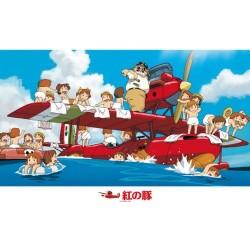 Porco Rosso - Puzzle 1000 pièces  -  TOTORO - GHIBLI