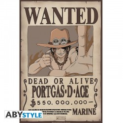 One Piece - Affiche Wanted Portgas D.Ace  - Posters & Affiches