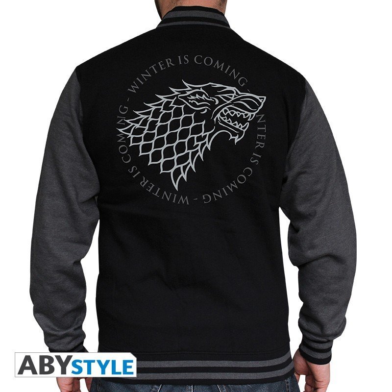 Game of Thrones - Veste Teddy Stark  - T-SHIRTS & VÊTEMENTS