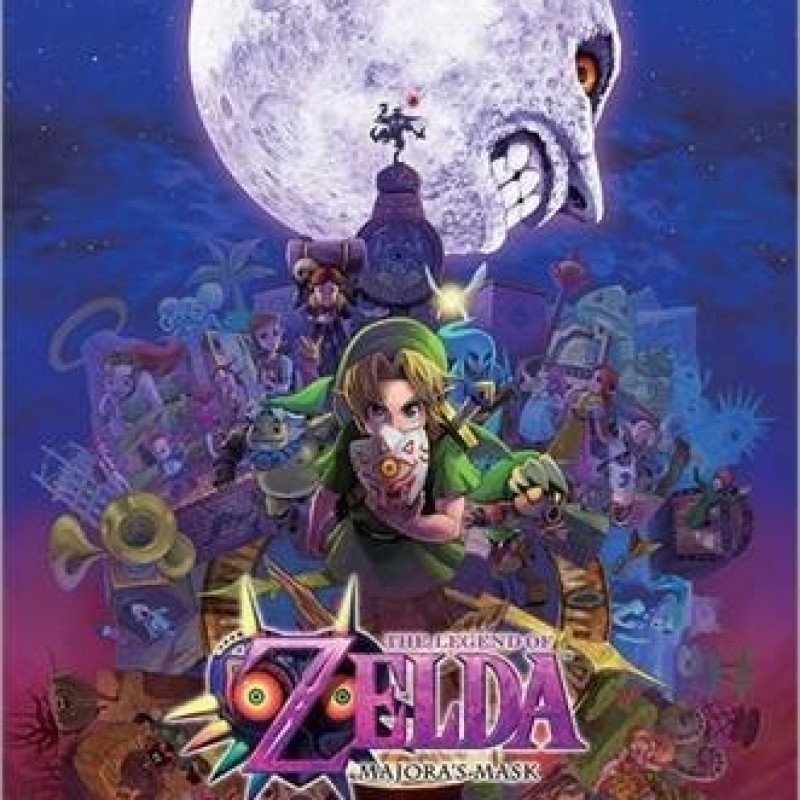 The Legend of Zelda - Poster Majoras Mask  - ZELDA