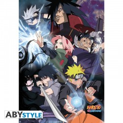 Naruto Shippuden - Poster Ninja War  - POSTERS & AFFICHES