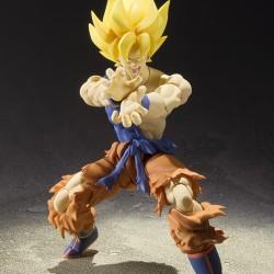 Dragon Ball Z - Figurine S.H Figuarts Sangoku Super Saiyan - War Awake Ver  -  DRAGON BALL Z
