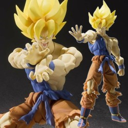 Dragon Ball Z - Figurine S.H Figuarts Sangoku Super Saiyan - War Awake Ver  -  DRAGON BALL Z