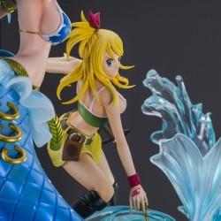 Fairy Tail - Figurine Lucy & Aquarius - HQF Tsume  - Figurines