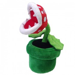 Super Mario - Peluche Plante Piranha  -  MARIO BROS & CO
