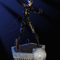 Batman Le Défi - statuette Catwoman  -  LES BONNES AFFAIRES