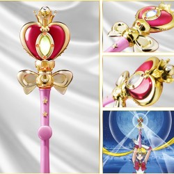 Sailor Moon - Sceptre Spiral Heart Moon Rod - Proplica  - SAILOR MOON