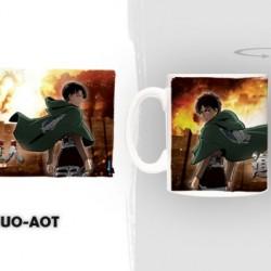 L'Attaque des Titans - Mug Duo AOT  - L'ATTAQUE DES TITANS