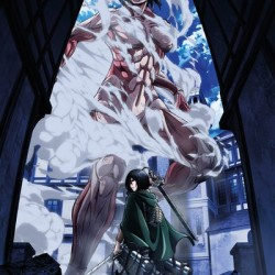 Attack on Titan - Poster Titan Art  - L'ATTAQUE DES TITANS
