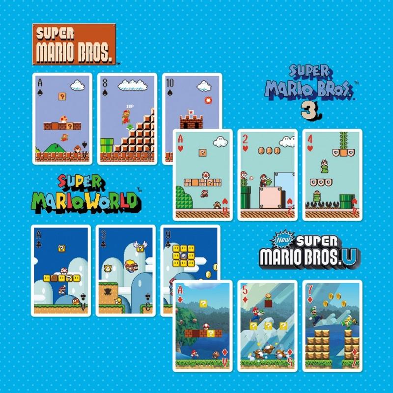 Nintendo - Jeux de 52 Cartes Super Mario Bros  -  MARIO BROS & CO