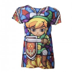 The Legend of Zelda - T-shirt Fille Sublimation  - ZELDA