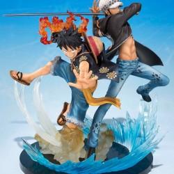 Figurine de Luffy et Trafalgar Law  - Figurines