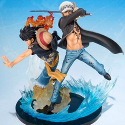 Figurine de Luffy et Trafalgar Law  - Figurines