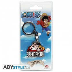 One Piece - Porte-clés métal Luffy New World  -  ONE PIECE