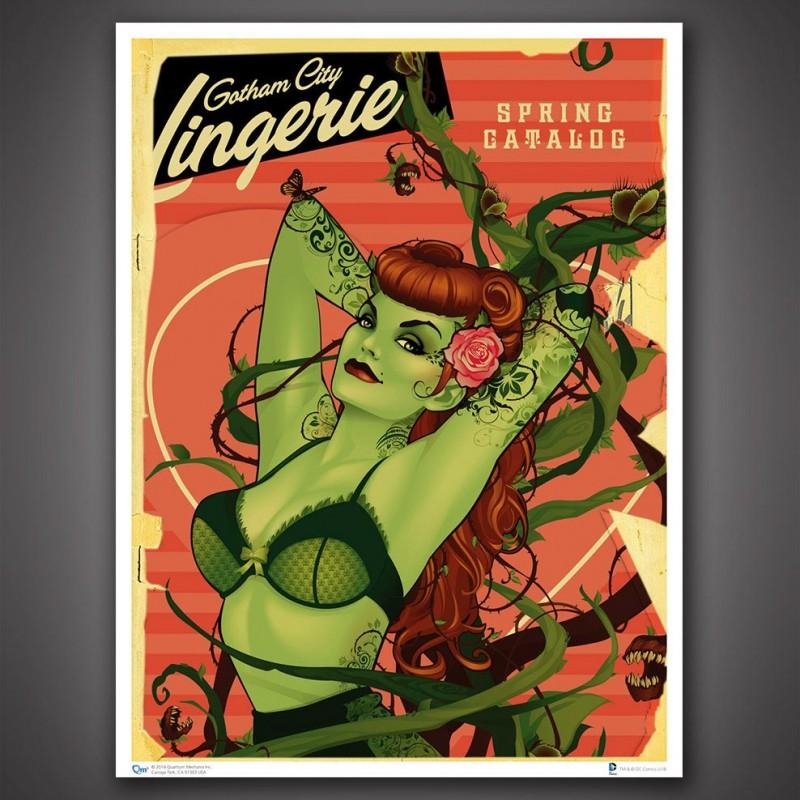 lithographie Poison Ivy  - PRODUITS DERIVÉS