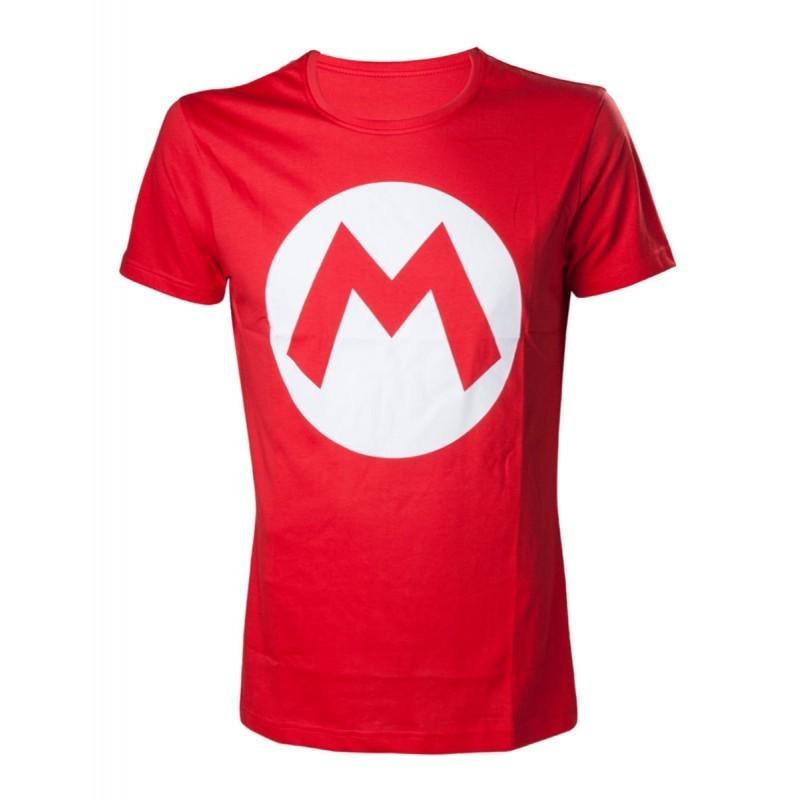T-shirt Mario Logo  - Mario Hors Stock