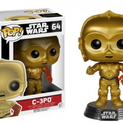 Figurine C-3PO POP! Vinyl  - LES FIGURINES
