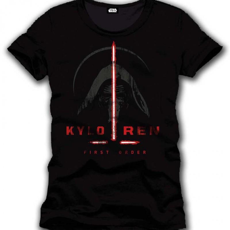 T-shirt Kylo Ren Commandant Sith  - CINÉMA & SÉRIES TV