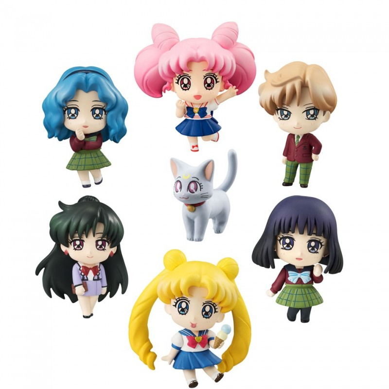 Figurines Sailor Moon More School Life Limited  - LES FIGURINES