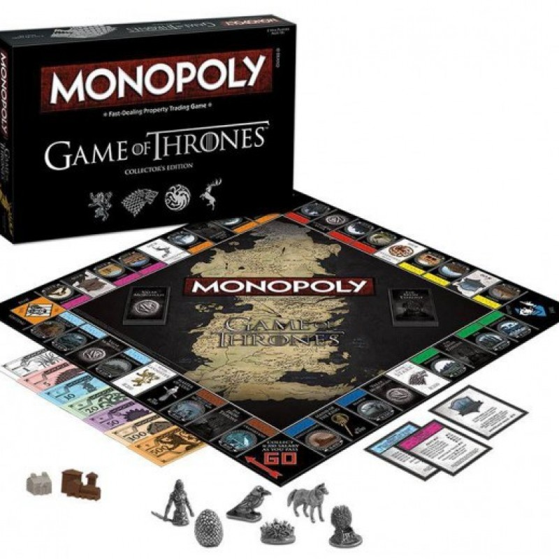 Monopoly Game of Thrones  - CINÉMA & SÉRIES TV