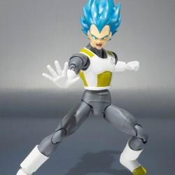 Figurine S.H Figuarts Vegeta Super S God  - Figurines DBZ