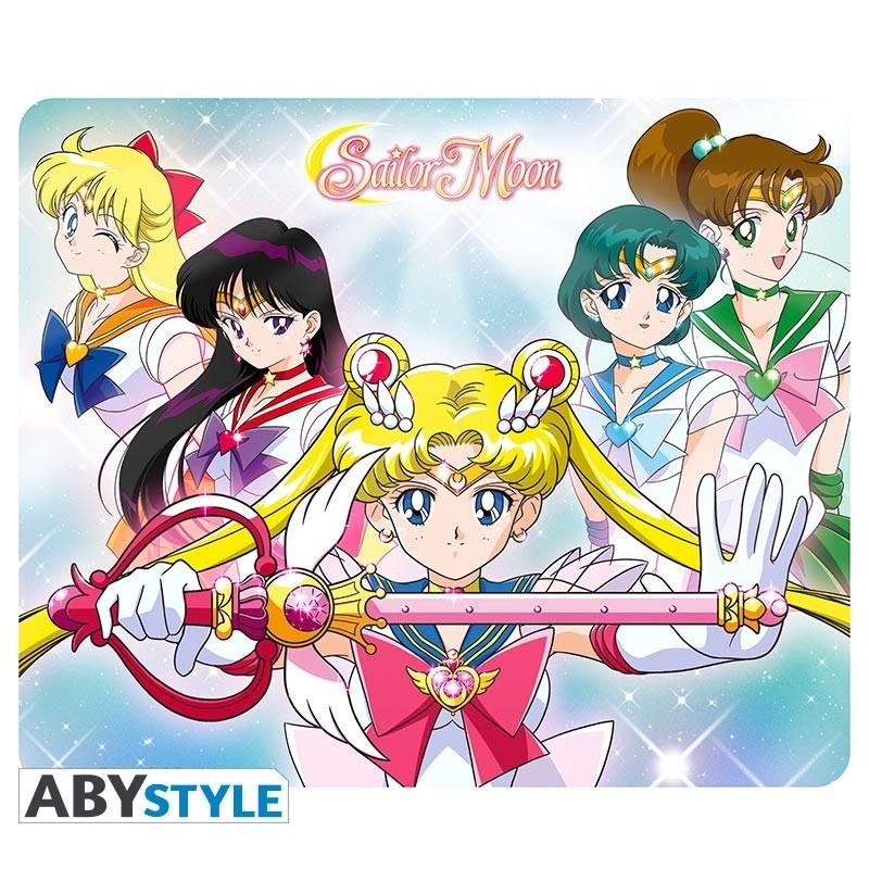 Tapis de souris Sailor Guerrières   - Sailor Moon Hors Stock